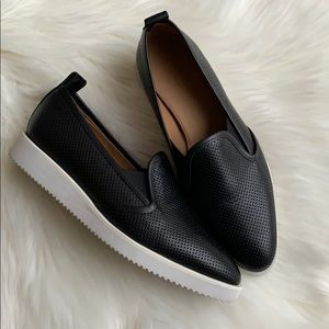 Everlane Perforated The Leather Street Shoe Size 7